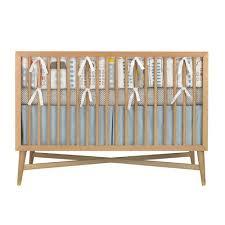 Dwell Crib Bedding Dwell Studio Skyline Crib Set Modern Crib Bedding Popsugar
