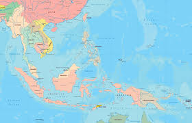 Political Map Asia by Southeast Asia Map Indonesia Malaysia Philippines Thailand