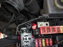 b terminal repair main fuse box