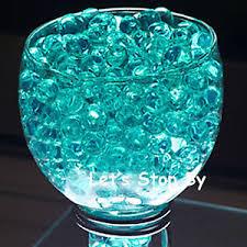 100g teal water pearl wedding supplies eiffel tower vase