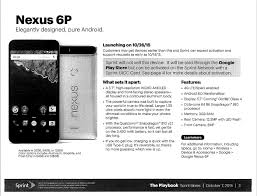 nexus 6p black friday amazon potential nexus 6p ship dates in sprint leak pocketnow