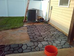Concrete Driveway Paver Molds by Patio Concrete Patio Molds Pythonet Home Furniture