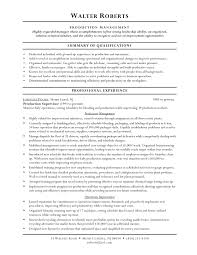 warehouse resume skills summary customer warehouse worker objective for resume exles exles of resumes