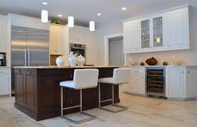 white kitchen wood island classic meets modern modern custom cabinets ackley cabinet llc