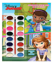 disney junior kids ultimate paintbox coloring book zulily