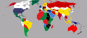 world map with country names map world names major tourist attractions maps
