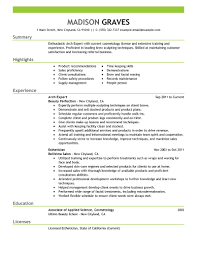 Esthetician Resume Example by Best Arch Expert Resume Example Livecareer
