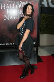 halloween horror nights los angeles vanessa hudgens at the universal studio halloween horror night
