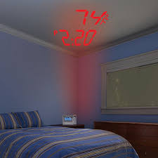Alarm Clock With Light On Ceiling Lcd Projection Alarm Clock Improvements
