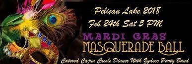 mardi gras masquerade pelican lake mardi gras masquerade feb 24 sat 5 pm event