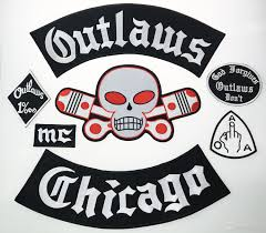 biker vest sale outlaw chicago forgives embroidered iron on patches big