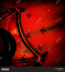 halloween spiders background halloween festive background abstract dark red backdrop many