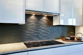 Modern Kitchen Countertops And Backsplash Kitchen Appealing Modern Kitchen Tiles Black Wavy Backsplash