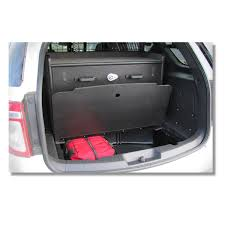 Ford Explorer Cargo Space - 2013 2014 ford pi utility cargo area organizer pro gard products