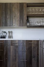 Reclaimed Kitchen Cabinet Doors Barn Wood Look Cabinets Barn Door Style Cabinet Doors Barn Siding