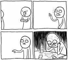 Meme Depression - overconfident alcoholic depression guy blank template imgflip