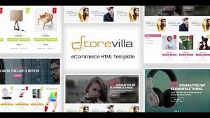storevilla multipurpose ecommerce template themeforest website