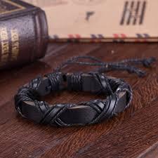 leather bracelets for men viking leather bracelet for women and men jagfox com