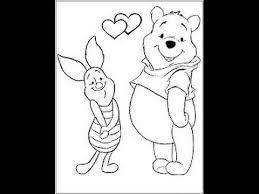 draw winnie pooh character u2013 piglet easy drawing