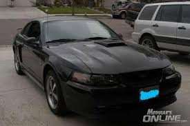 2003 Black Mustang I Bought A 2003 Mach 1 Mustang Black On Black
