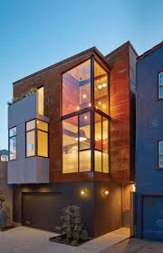 architectural homes two homes on one plot of land in san francisco design milk