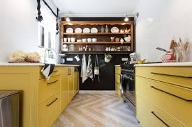Kitchens With Yellow Cabinets 23 Kitchens With Chalkboard Paint