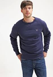 gant rugger gant sweatshirt marine men outlet shirt dark blue