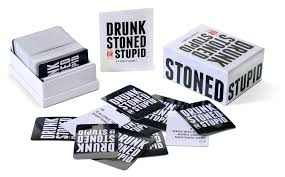 amazon com drunk stoned or stupid a party game toys u0026 games