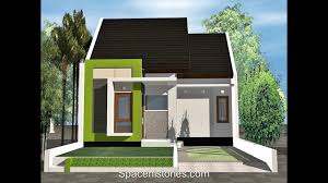 modern minimalist house design type 36 youtube