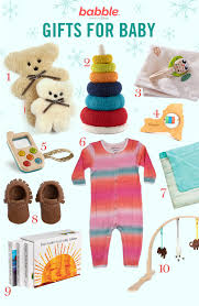 11 gifts for baby u0027s first holiday babble