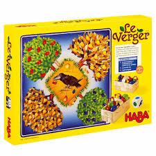 jeux pour apprendre a cuisiner jeu de société le verger haba pour enfant de 3 ans à 6 ans oxybul