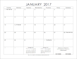 download the 2017 ink saver calendar from vertex42 com for the