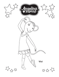 little ballerina coloring pages alltoys for