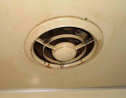 kitchen ceiling exhaust fan removing cleaning old kitchen exhaust fan doityourself com