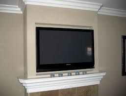 Mounting Tv Over Brick Fireplace by Mounting Tv Above Brick Fireplace Home Design Ideas
