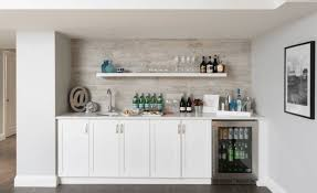 basement bar white cabinets design information about home