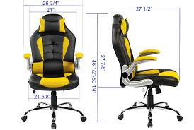 Ergonomic Computer Chair With Footrest And Headrest Also Adjustable Laptop Holder Merax Ergonomic High Back Racing Style Office Chair For Reclining