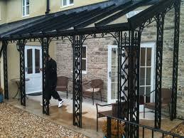 Wrought Iron Pergola by Glass Canopies Ireland Google Search Garden Furniture