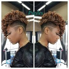 mwahahwk hairstule done using kinky phylliciagp s photo on instagram awesome quick weave haircut
