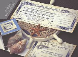 nautical boarding pass tickets wedding invitations u2013 need wedding