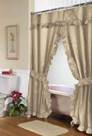 Fabric Shower Curtains With Matching Window Curtains Swag Curtains Lovetoknow