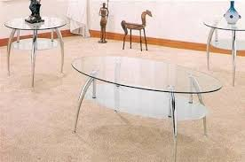 Occasional Table And Chairs Amazon Com Beautiful 3 Pc Chrome And Glass Coffee Table Set