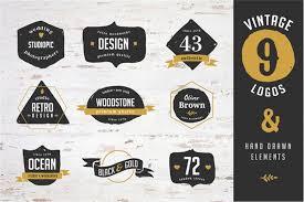 design a vintage logo free 10 free templates mockups for creating awesome logo designs