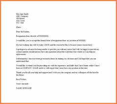 4 resignation email sample resign letter job