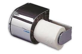 covered toilet paper holder covered reserve roll locking toilet tissue holder chrome