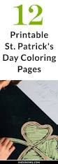 12 printable st patrick u0027s day coloring pages for kids st