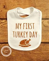 thanksgiving bib my turkey day baby s thanksgiving