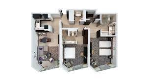 Hotel Apartments Dubai Sheraton Grand Hotel Dubai - Furnished two bedroom apartments