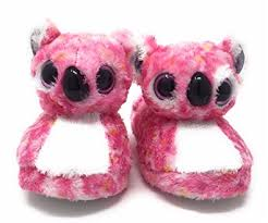 amazon ty beanie boo girls u0027 faux fur loafer slippers