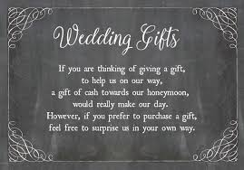wedding gift of money chalkboard wedding gift wish card from 0 40 each